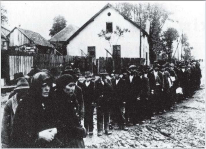 1941 m. Serbijoje sulaikyti Romai
